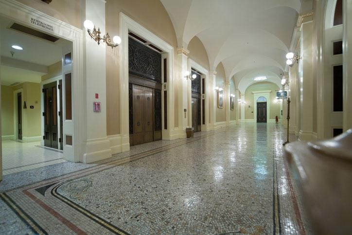 Sacramento Capitol Inside
