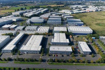 Industrial units from air
